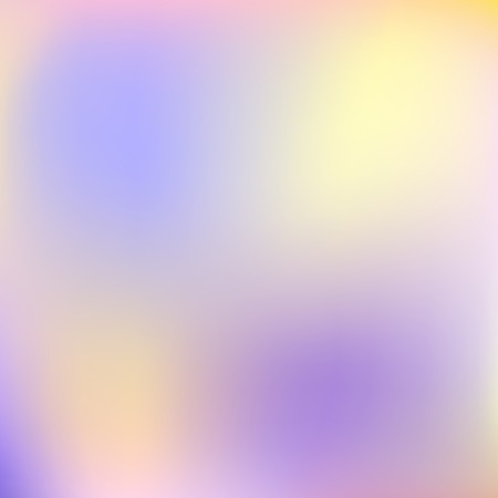 Blurred vector background of diffused pastel colors. Light yellow, violet stains. Soft gradient. Abstract template for modern creative design. Dreamy, airy, mysterious concept illustration