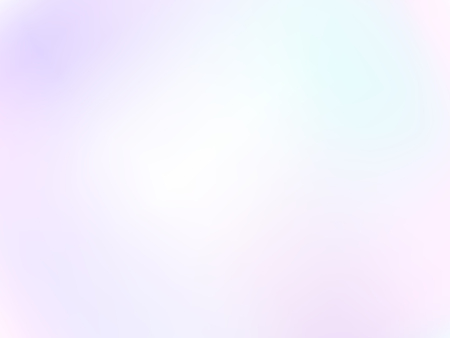 Light pastel background. Diffused white, purple, pink, turquoise hues. Gentle tones. Soft blurred gradient. Abstract vector delicate, dreamy, airy image. EPS 10 illustration