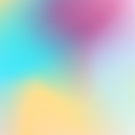 Multicolored modern background. Gentle hues of teal, orange, purple, blue, white gradient. Abstract blurred stains. Vector template for creative art design. EPS10 illustration