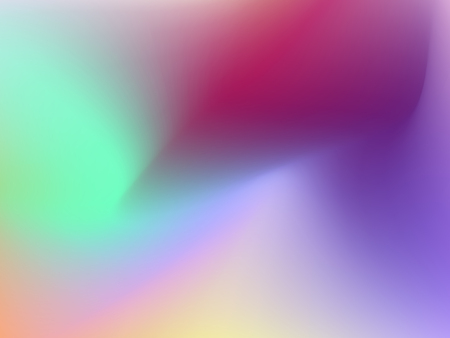 Color transition. Blurred stains. Abstract trendy background. Green, purple, violet, orange, yellow gradient. Bright smooth hues. Vector template for modern design. EPS10 illustration