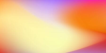 Colored blurred background. Bright yellow, orange, red, purple gradient. Expressive vector abstract pattern. Backdrop design for web banners, leaflets. EPS 10 illustration