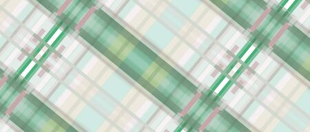 Geometric background in green and beige hues. Multicolored criss-cross stripes. Abstract pattern, modern design. Technology template for web banner, landing page, website, poster, flyer, leaflet