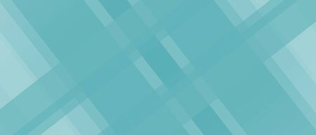 Abstract turquoise green background. Transparent criss-cross strips. Geometric pattern. Diagonal composition, modern design. Technology template for web banner, landing page, website, poster, flyer, leaflet