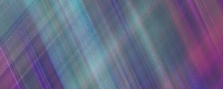 Dark crisscross blue, green, magenta, purple lines, diagonal strips. Panoramic abstract background. Multicolored pattern. Modern wallpaper design. Horizontal textured template for web banner, landing page, website, flyer