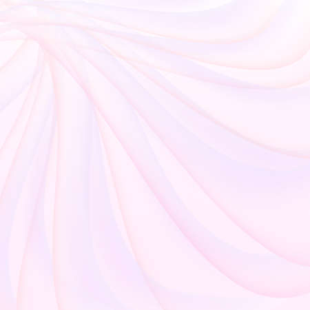 Light pink, purple curved lines. Transparent stripes. Delicate abstract background. Soft colored gradient. Wave design. Artistic concept of spring, holiday