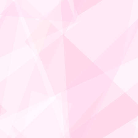 Gentle pink, white transparent triangle shapes. Vector rapport for seamless pattern. Geometric background. Stylized stained glass. Abstract design for wallpaper, wrapping paper, websites. EPS10 illustration