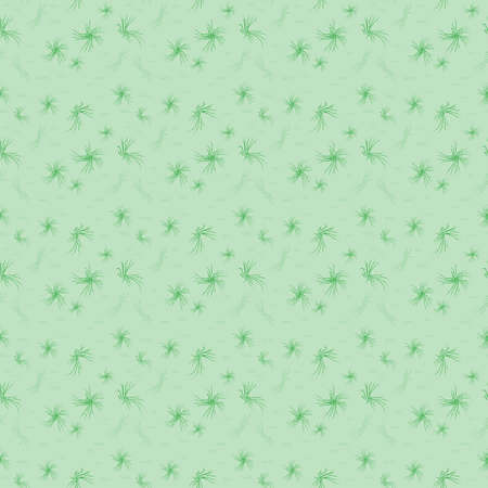 Chaotic dark green shapes. Cute seamless pattern. Light green background. Stylized grass. Abstract design for textile, wallpaper, website, wrapping paper