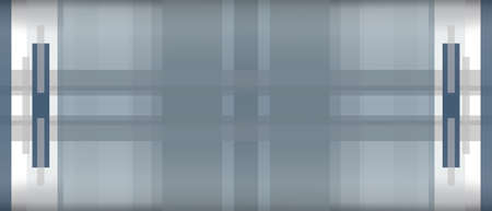 Geometric background with dark blue, gray, white strips. Creative abstract pattern with copy space. Modern technology design. Panoramic template for web banner, landing page, website, business card, poster, flyer, leaflet Stok Fotoğraf