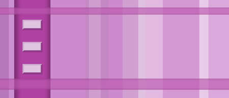 Geometric panoramic background in magenta, pink, purple hues. Abstract striped pattern. Modern technology design. Template for web banner, landing page, website, business card, poster, flyer, leaflet Stok Fotoğraf