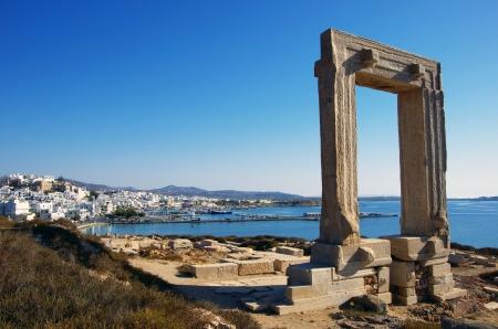 naxos: Portara   Apollo Temple, Naxos