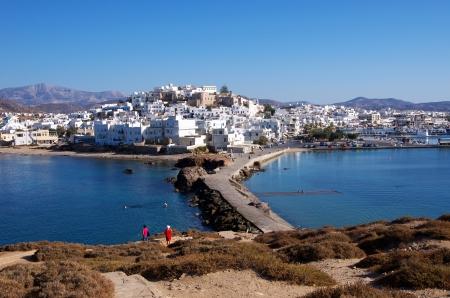 naxos: Naxos town, Greece