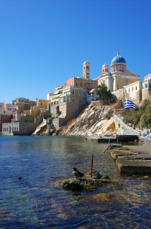 Ermoupoli, Syros Island, Greece Stock Photo - 16709060
