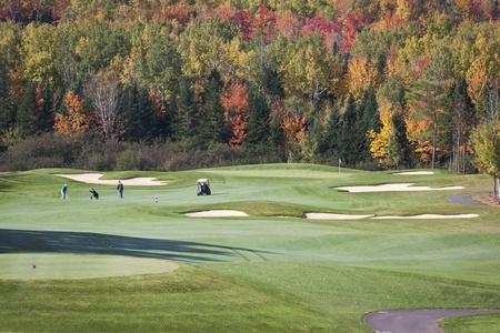 Autumn  Golf photo
