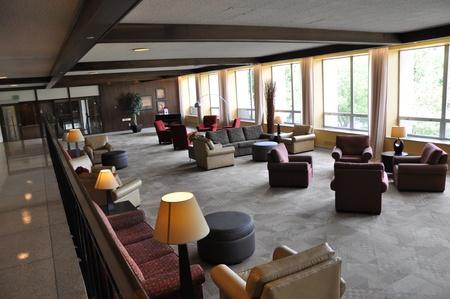college dorm: College Campus Building Editorial
