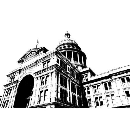 국회 의사당: 주 의사당 오스틴 텍사스