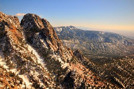 Sandia ski lift New Mexico Banco de Imagens