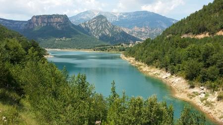 escalation: Swamp Llosa del Cavall in Catalonia, Spain