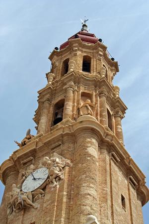 Belfry of the Savior Cathedral, Zaragoza (Spain)