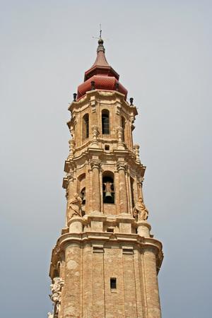 savior: Belfry of the Savior Cathedral, Zaragoza (Spain)