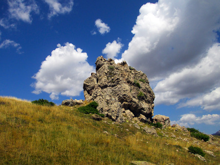 Rocks in the Pyrenees Aragon?s ? s, Huesca (Spain)
