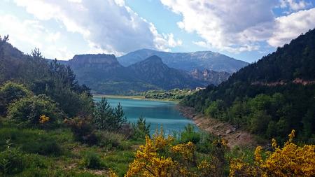 Embalse de la Llosa del Cavall, Lerida (Spain)