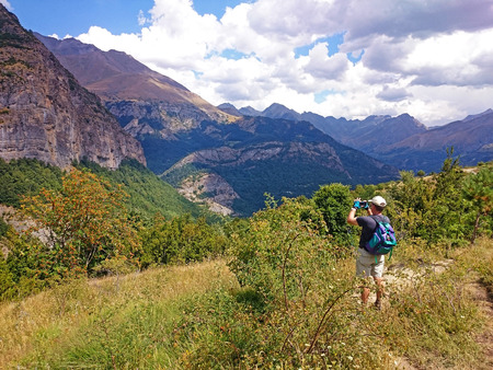 Hiking in the Valley of Tena, Huesca (Spain)