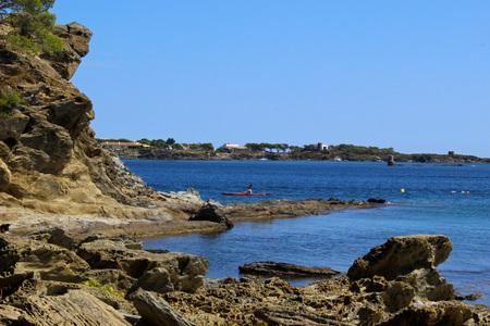 Cove in the bay of Cadaqu?s ? s, Catalu? ? a (Espa? ? a)