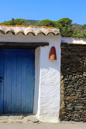 blue door: Blue Door in paperback facade