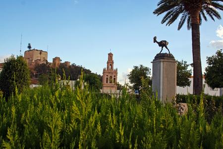 cackle: Rooster Sculpture Moron, Moron de la Frontera (Spain)
