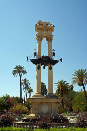 Columbus monument, Sevilla (Spain)