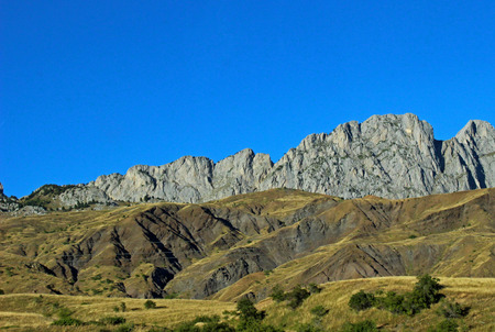 Mountain in the Pyrenees of Huesca, Formigal (Spain)