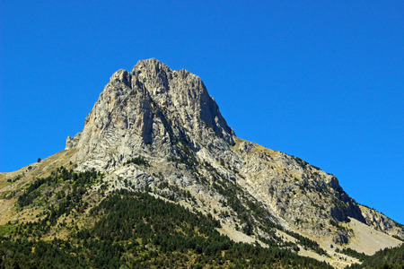 Mountain in the valley of Tena, Huesca (Spain)