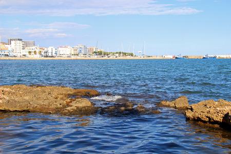 Bay on the coast of lAmpolla, Catalonia (Spain)