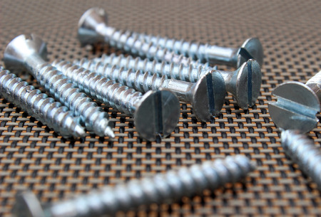 tornillos: Flat head screws countersunk