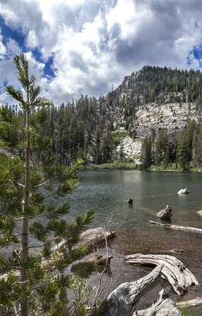 sierras: Granite Lake Hike, Lake Tahoe, California