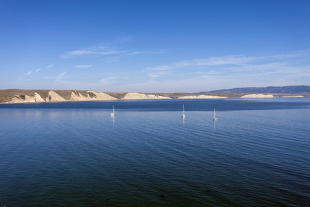 drakes: Boats anchored in Drakes Bay - Point Reyes, California