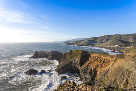 marin: Image of the Marin Headlands and Rodeo Beach