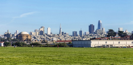 A sunny afternoon enjoying San Francisco's Crissy Field.