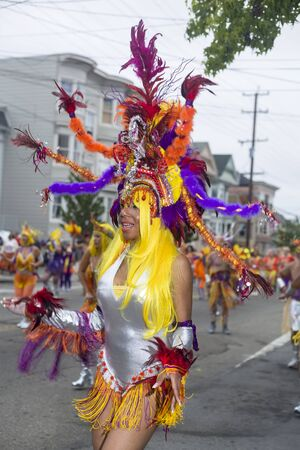Carnaval San Fracisco, SAN FRANCISCO, CA - MAY 27, 2012: Carnaval San Francisco is a celebration of Latin American culture that takes place over the Memorial Day weekend every year in San Francisco's Mission District. The festival features elaborate cos