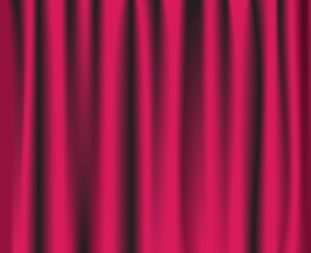 theatre curtain: Pink theatre curtain background.