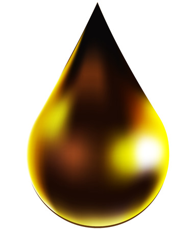 Drop icon designed with mesh. OIl drop. Vector illustration