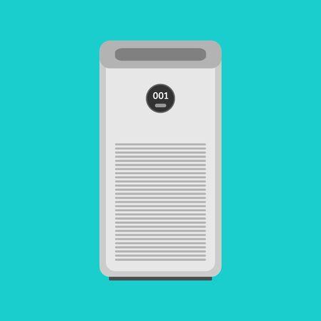 Air purifier icon, fresh air concept, vector, illustration.