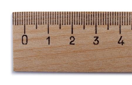 pravítko: měřítko na bílém pozadí