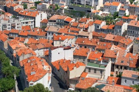 Roofs marselya Vid top photo
