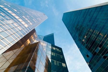 high-rise modern building  Paris  Defense