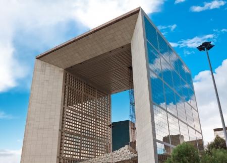 panoramics: Modern triumphal arch  Paris  Defense