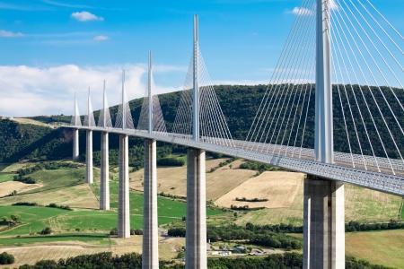 millau: Millau Viaduct, Aveyron Departement, France