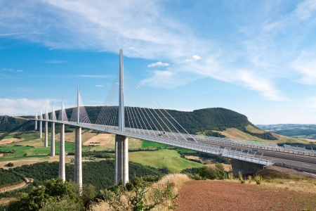 millau: Millau Viaduct, Aveyron Departement, France