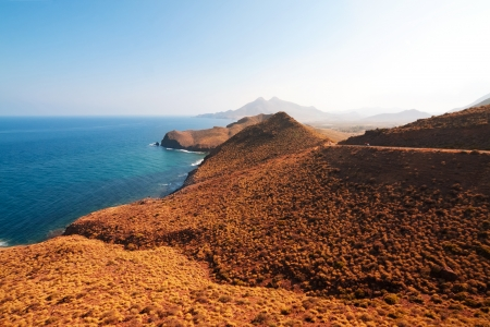 Mediterranean coast, province of Almeria, Spain photo