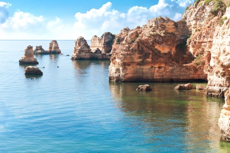 Coastal cliffs (Ponta da Piedade), Lagos, Portugal